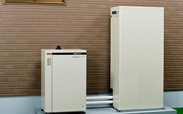 エコウィル(ガス発電・給油暖冷房システム)